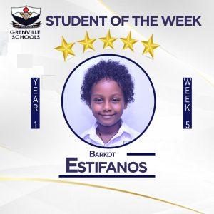 WEEK 5: Students Of The Week