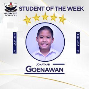 WEEK 7: Students Of The Week