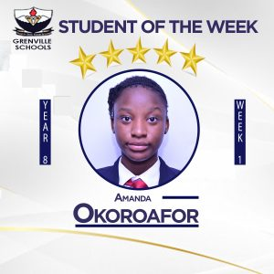 2021/22 First Term: Students Of The Week (Week 1)